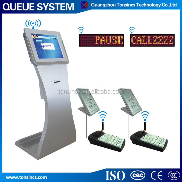 electronic automatic unicode wireless queue management for hospital
