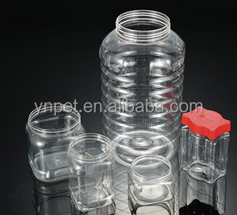 6 cavities hot runner plastic injection valve needle Preform mould
