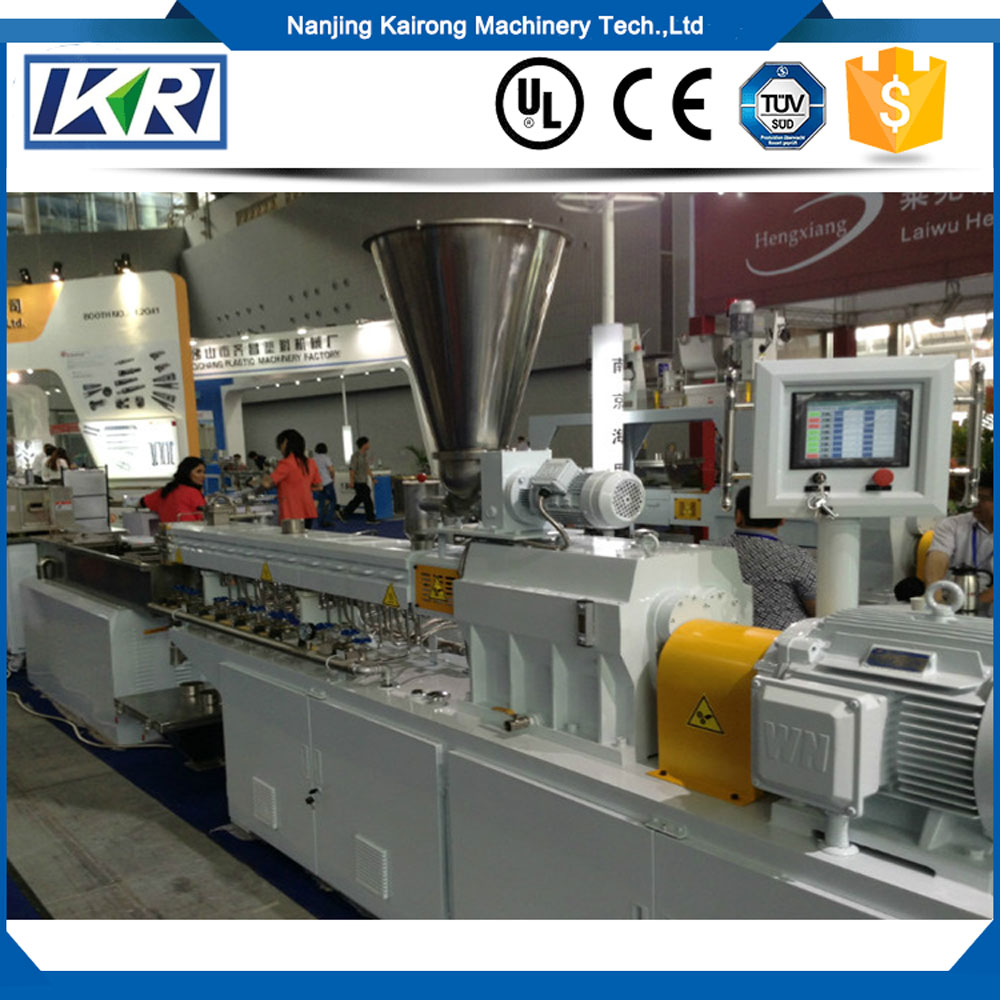 TSE30A CE authentication lab twin screw extruder for sale/Polyamide PA66 /Nylon 66 Per Kg Pellets Making Machine