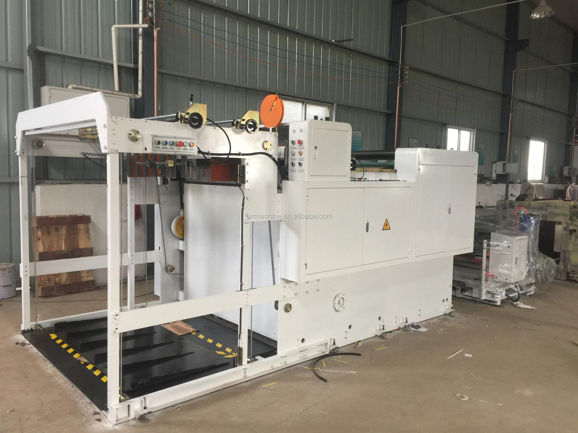 1100 Model Automatic Paper Cross Cutting Machine (auto stacking on pallets)