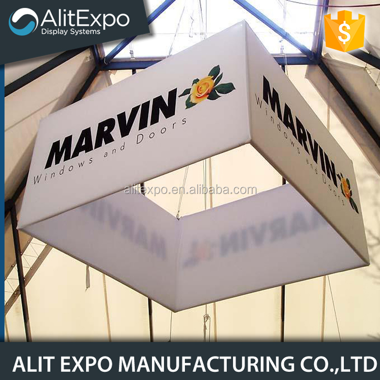 Portable Exhibition Games : Alit expo factory customized portable exhibition square aluminum