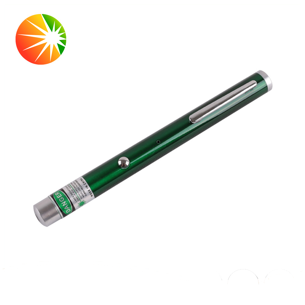Fashionable great quality stars pointer powerful burn match 532nm green single laser point