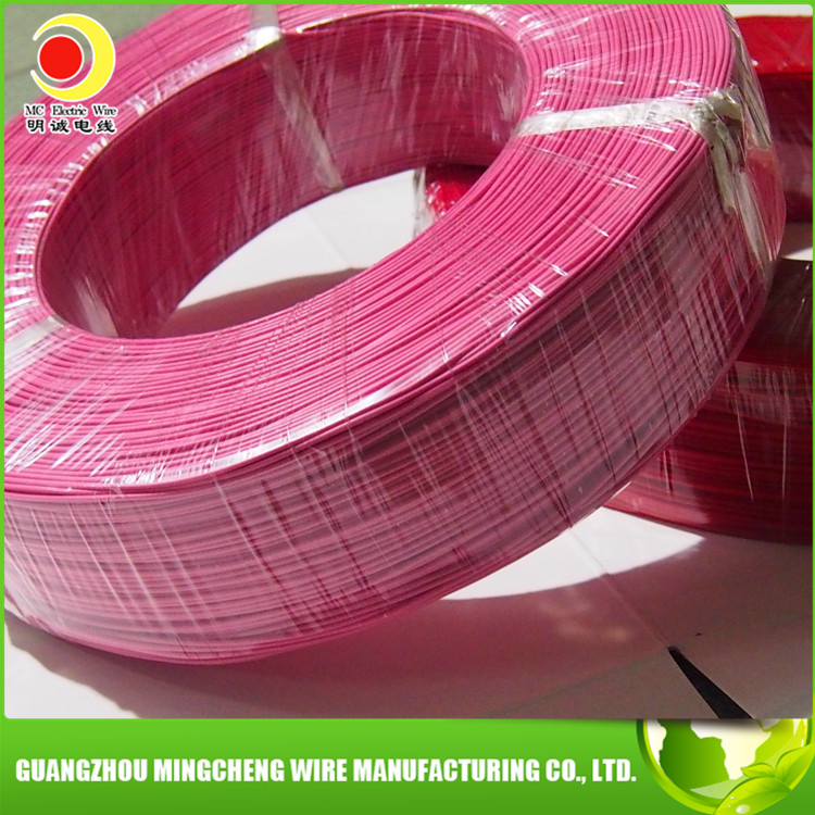 UL1007 22 AWG copper conductor PVC insulated flexible power wire