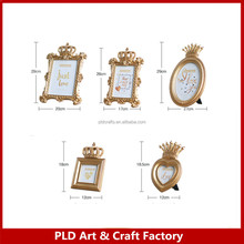 Hot sale polyresin funny photo frames wholesales
