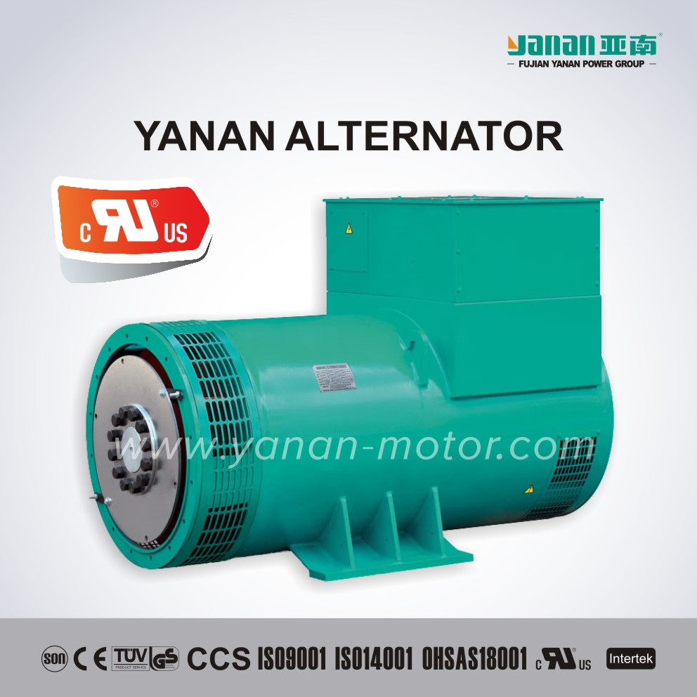 YANAN SLG Series Three Phase Brushless Synchronous Alternator For Generator