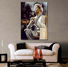 Modern Canvas Art Print Poster Canvas Oil Painting pop african oil painting Wall Pictures for Living Room