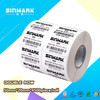 SINMARK blank semi-gloss coated self adhesive label rolls paper