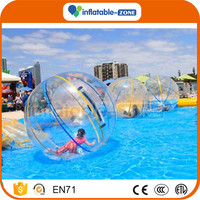 Inflatabel water running ball inflatable water balls pvc inflatable roller price