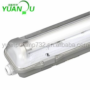 Led Tri-proof Light IP65 T8 Tube LED/Fluorescent Waterproof Lamp Fixture