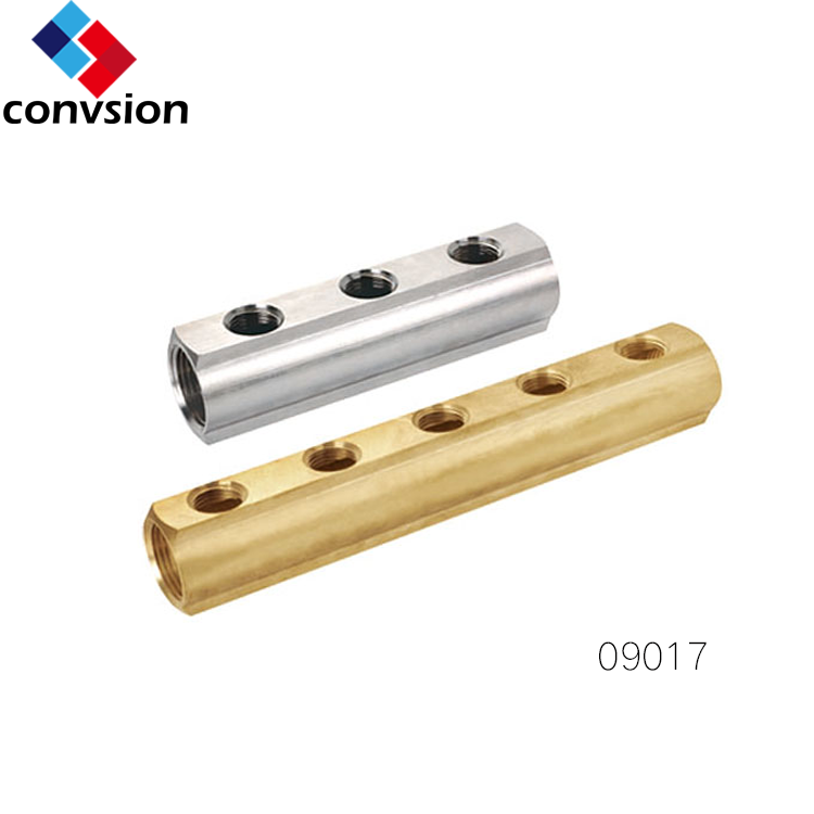 09017 Pipeline Brass Manifold for Underfloor Heating System