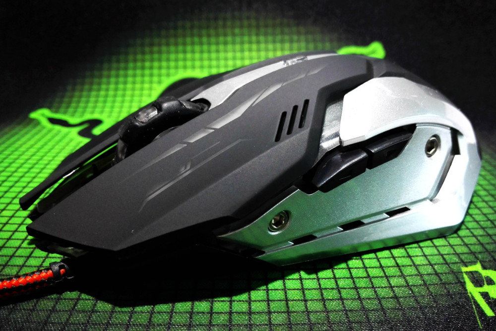 Alibaba Crazying Selling Gaming Mouse 6D Optical Wired Gaming Mouse High DPI GM-814 Mouse for Gamer ODM/OEM/Custom Supported