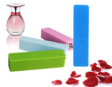 Manual for plastic battery power bank charger 2600mAh perfume power battery
