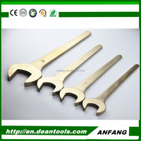 ANFANG Non Spark and Non Magnetic Single Open End Wrench