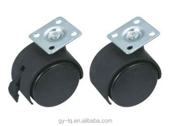 Good price round casters/swivel ball casters/angled casters A1001 with good quality