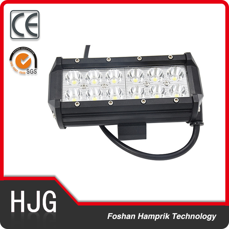 car accessories 4x4 led driving lights led truck light offroad for car work 12 led light bar