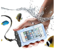 Hot selling waterproof phone bag with shockproof for universal mobile phone PVC waterproof bag