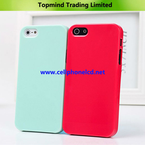Colourful Soft Rubber Case for iPhone 5