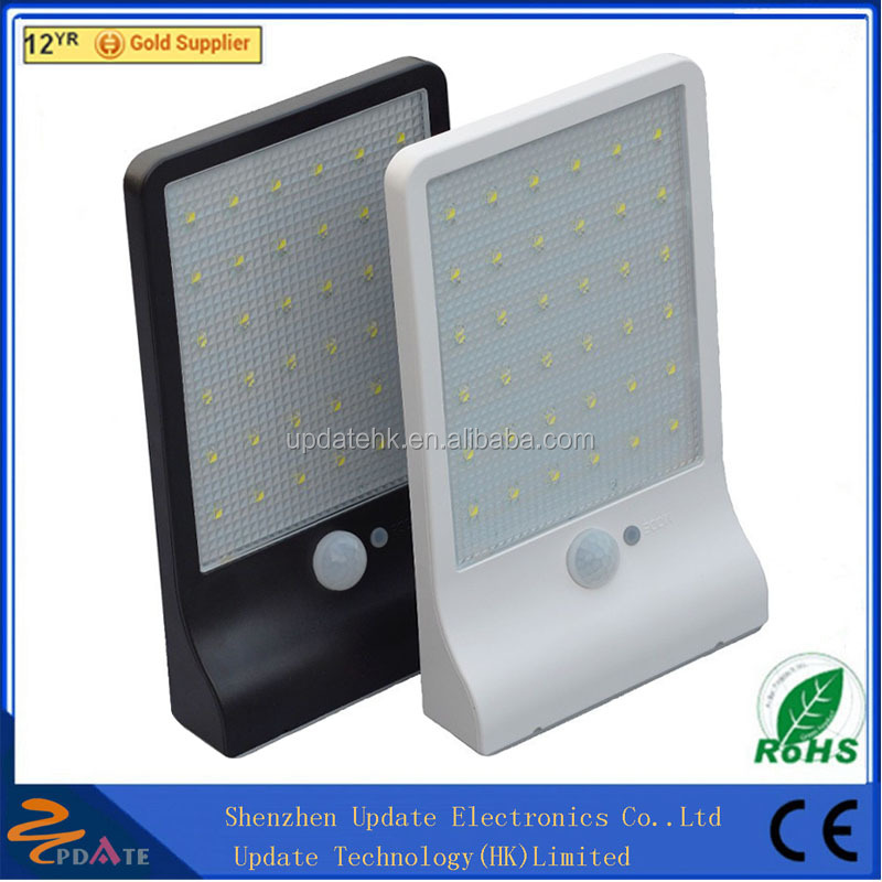 Outdoor Garden 36 LED wall mounted solar security lights