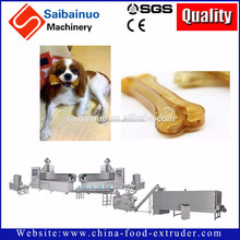 China high quality automatic extruded dog treat making machine