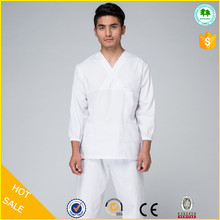 Wholesale design male nurse uniforms white