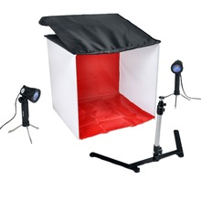 40 CM Piazza Luce Tenda + 4 Treppiede Lampadina studio Fotografico <span class=keywords><strong>kit</strong></span>