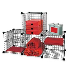 Grid Wire Modular Shelving and Storage Cubes (FH-ALW0019)