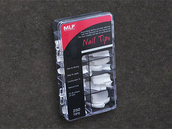 250 nail tips case /plastic case