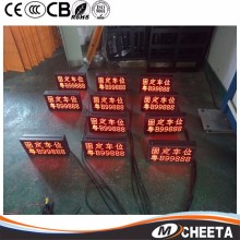 Wholesale LED 3G/4G taxi roof led display/led screen car advertising/taxi top sign