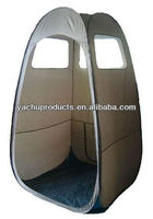 Skylight spray tanning tent or pop up spray tanning tent