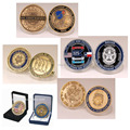 Custom US logo Coins Made In China Custom Metal Challenge Coin