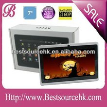 7 inch a10 tablet PC android 4.03 Allwinner A10 1.5G,cortex A8,DDR3 512M,4G,wifi,HDMI,dual camera,5 points Capacitive G+G screen