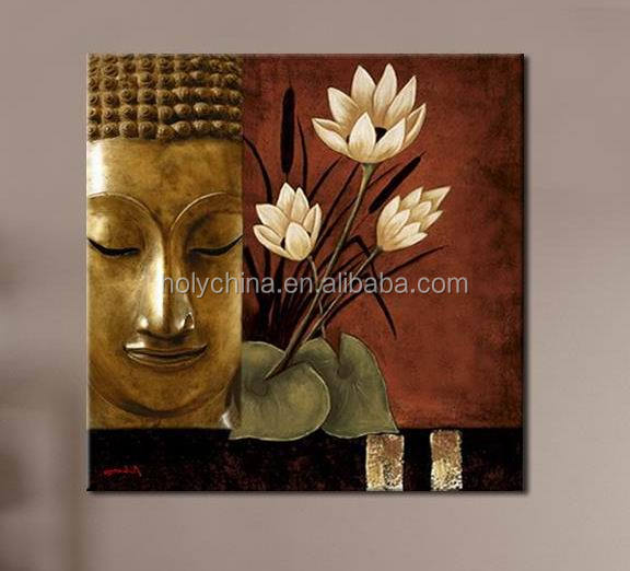 hot sale high quality buddha oil painting on canvas