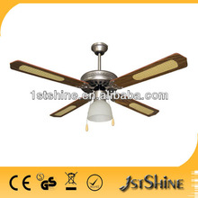 52 inch good quality decorative ceiling fans with lights