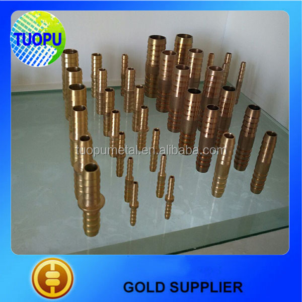 Tuopu brass hose connectors pipe fittings union connector copper pipe fittings and connectors