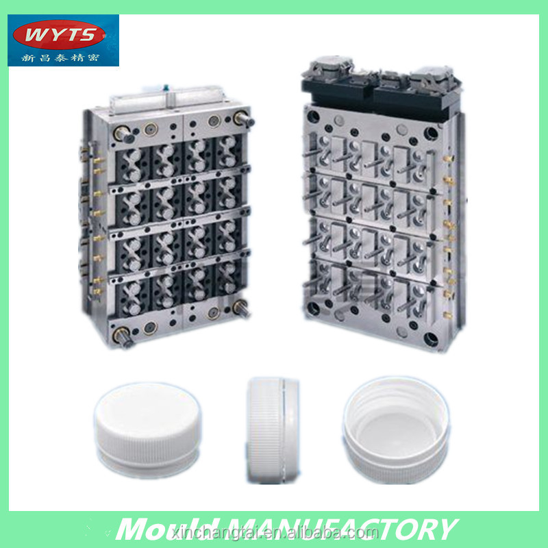 Professional plastic injection mould makers bottle caps mold makers from factory directly