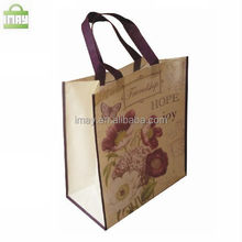 Full printing sublimation PET non-woven bag