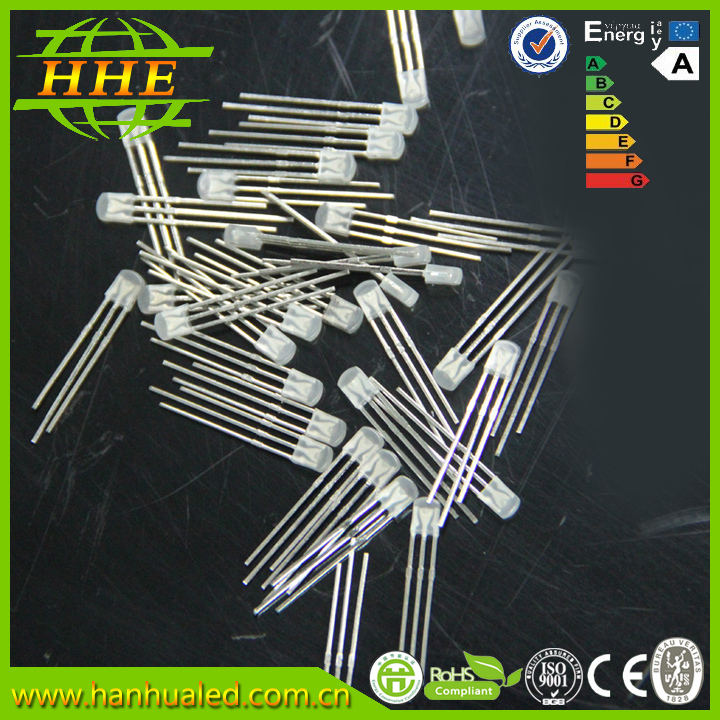 Small Interval Dip Led Diode 234 bi-color Emitting Diode Common Anode for your convinience