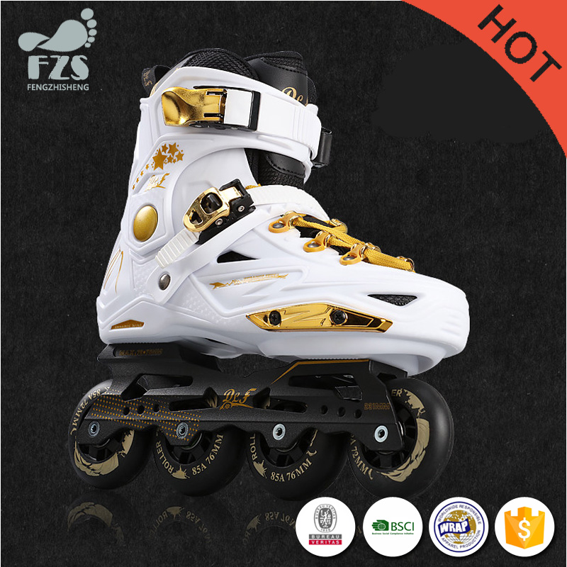 factory supply inline skating four wheels single roller skates