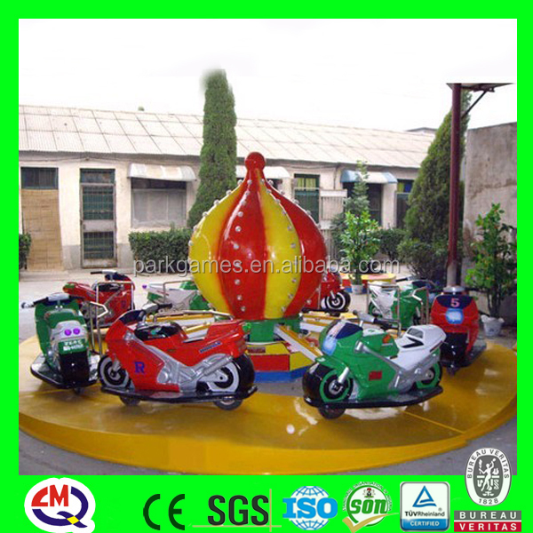 Small carnival rides motor racing mini motorcycle for sale