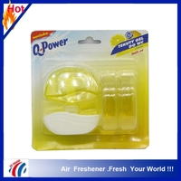 3*55ml packed plug in car vent perfume