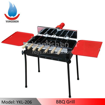 YKL-601 portable gas bbq grill CHARCOAL BBQ