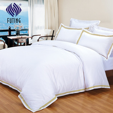 Used hotel bedding linen bed sheets Satin cotton bed comforter set