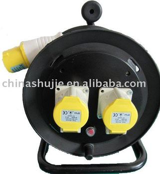 Three-pin Industrial Cable Reel