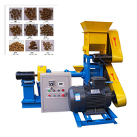 Electric Floating Catfish Feed Pellet Making Machine/small Fish Farmer Use Floating Feed Extruder For Catfish Feed