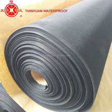 China manufacture supply EPDM rubber waterproof membrane roll material