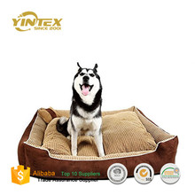 Supply Quality Wholesale waterproof 100% Polyester Dog Bed Cushion kennel