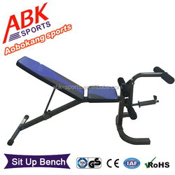 ABK-8639 chest exercise gym equipment/weight bench