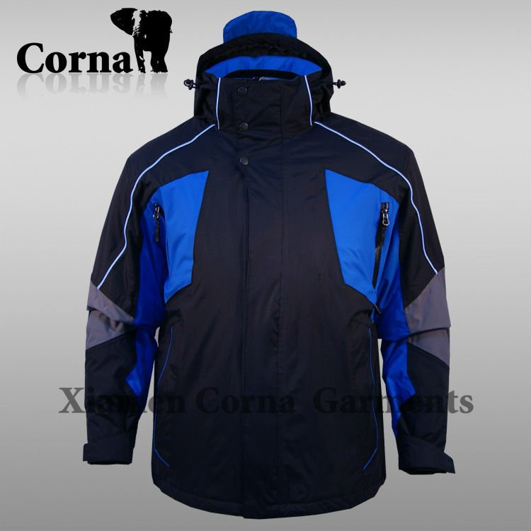 Fashion professional skiing wear mountain climbing cloth extremely cold winter ski jackets
