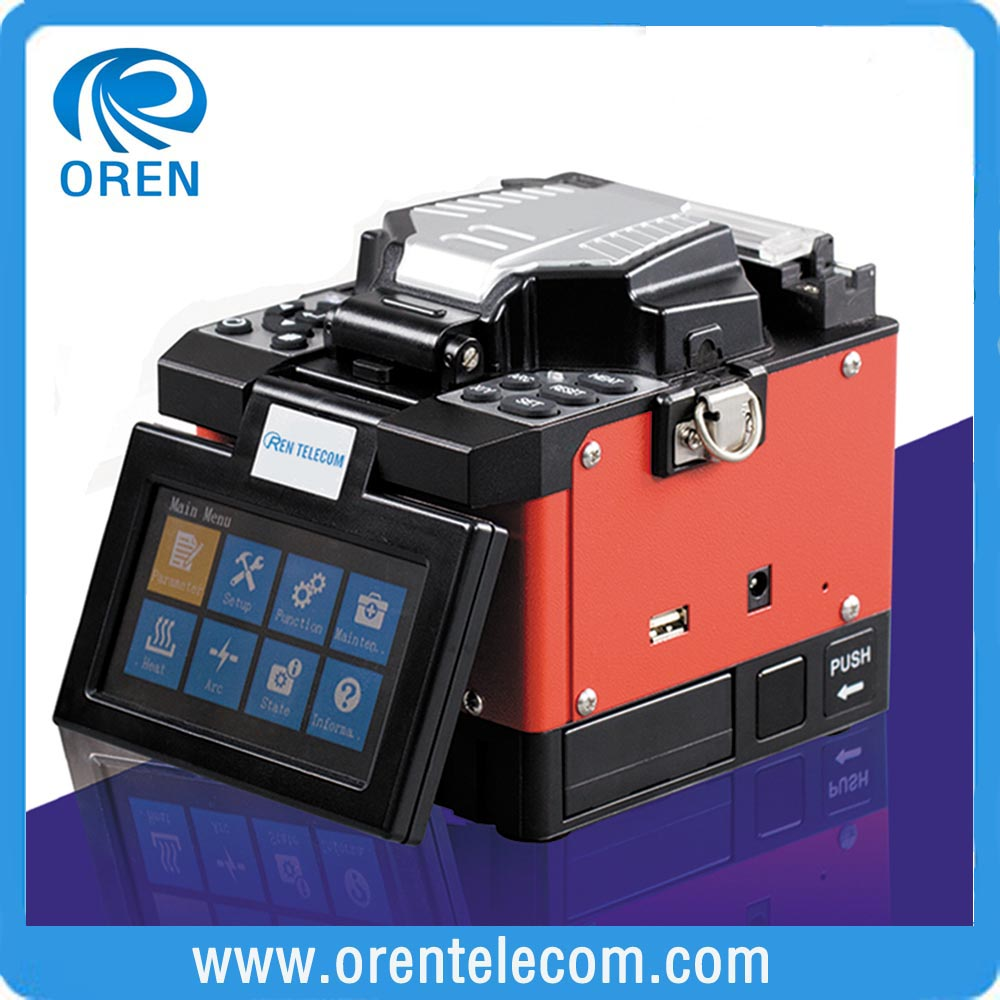 Mini FTTx Handheld Fiber Optical fusion splicer
