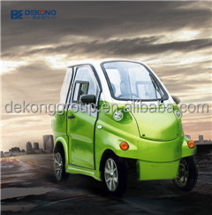 New pure mini electric vehicle : small / micro SUV car, 2 passenger seats made in China